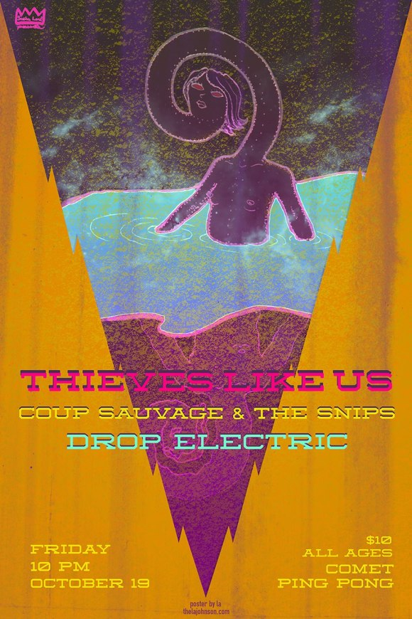 Thieves Like Us Flyer