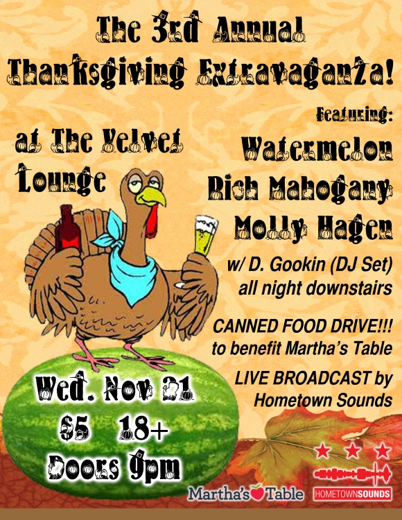 Watermelon Thanksgiving Flyer
