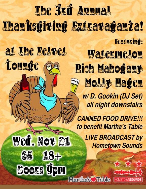 Watermelon Thanksgiving Flyer