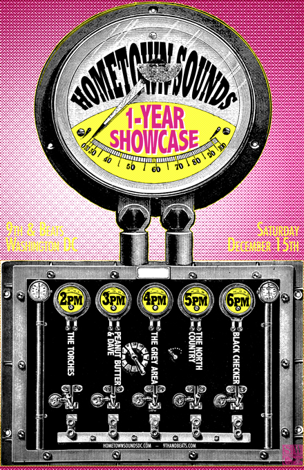 Hometown Sounds Showcase Flyer